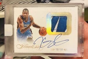 Kevin Durant Flawless Patch Auto 10/10