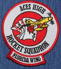 Florida    Air Force  Rocket  wing   Squadron   patch