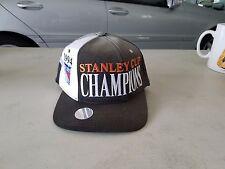 New York Rangers 1994 Stanley Cup Champions Locker Room Snapback Hat Cap Starter