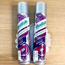 2 x BATISTE Instant Hair Refresh DRY SHAMPOO PLUS, HEAVENLY VOLUME 6.73 oz 200mL