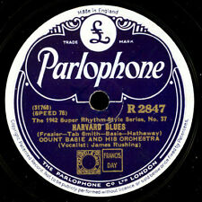 COUNT BASIE &  HIS ORCHESTRA & RUSHING  Harvard Blues / Coming Out Party    X177
