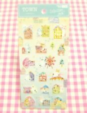 SYNAPSE JAPAN / House Town Cute Cat Sticker Sheet / Made in Japan