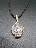 Guardian Angel St. Michael Russian Orthodox Reliquary Pectoral Amulet Pendant
