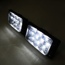 2 X Led Fog Lights Daytime DRL Cob SMD 12v Car For Renault Clio Megane Scenic