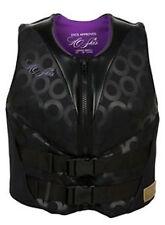 HO Sports ho Skis Life Jacket Vest Ladies Form Fit Black and Purple Many Sizes