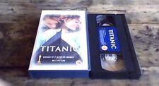 TITANIC UK PAL VHS VIDEO 1998 Leonardo DiCaprio Kate Winslet James Cameron