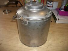 Vintage Chesapeake & Ohio Railroad (C & O RY) Stainless Steel  Water Can