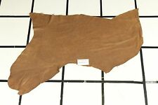 """""""Tiajuana Turf"""" Tan Scrap Leather Hide Approx. 5.25 sqft. Q54W10-7"""