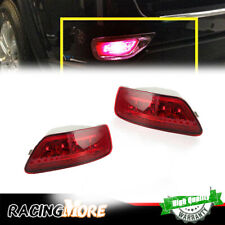 Red Lens LED Rear Fog Light Lamps For 2011-2015 Jeep Grand Cherokee Hot