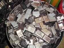 50 POUNDS used  Zinc Tire Wheel Weight STICK ONS --- make Zinc Ingot bullion