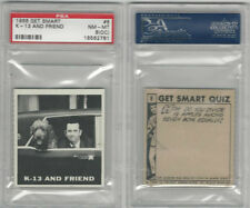 1966 Topps, Get Smart, #8 K-13 And Friend, PSA 8 OC NMMT