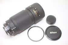 Nikon AF Zoom Nikkor 80-200mm F/2.8 ED AF D Lens Made In Japan