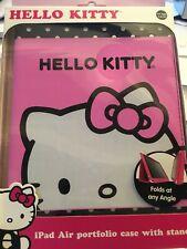NEW -  Hello Kitty iPad Air Portfolio Case Folds at any Angle