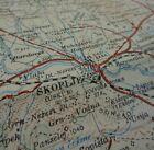 """WW1 (1916) MACEDONIAN FRONT - British Map entitled """"SKOPLJE"""" (North Macedonia)"""