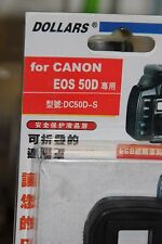 CANON EOS 50d DSLR Camera LCD HOOD AND SCREEN PROTECTOR Entièrement neuf dans sa boîte