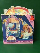 "1987 Lady Lovely Locks Enchanted Island ""Sea Magic Salon"" NIB By Mattel"