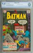 BATMAN #183 CBCS 9.4 OW/WH PAGES