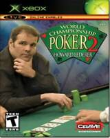 World Championship Poker 2 with Howard Lederer - Xbox - Video Game - VERY GOOD