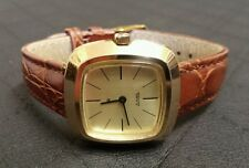 Vintage DUGENA Kaliber FHF 69-21 Handaufzug Herren Armbanduhr 70er Jahre