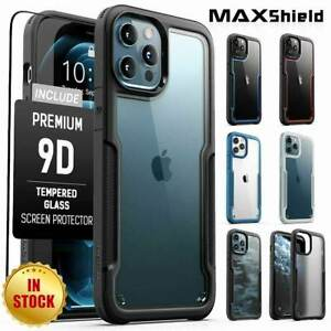 For iPhone 13 12 11 Pro XS Max Mini XR 8 7 SE Case Shockproof Clear Slim Cover