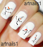 Frozen Disney Olaf Nail Sno Art Water Decals Stickers Manicure Salon Mani Polish