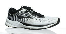 Brooks Mens Launch 5 White Running Shoes Size 9.5 (111745)