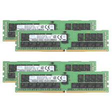 SAMSUNG Kits 4x 32GB 2RX4 PC4-2666V Server ECC MEMORY RAM M393A4K40BB2-CTD7Q 32G