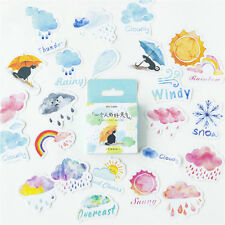 46 Pages Weather Sticky Notes Stationery DIY Scrapbooking Albums Page Decoration