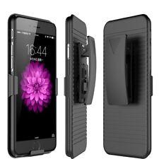 Hybrid Holster Defender Builder Case+BELT CLIP For iphone XS Max X 8 7 6 +5S 5C