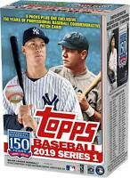 2019 Topps Baseball Series 1 Factory Sealed 9 Pack Exclusive Value Box