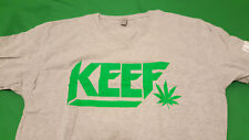 KEEF, (Chief keef) men's gray & green color large size T shirt, new in package.