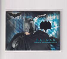 Batman's Cape (2005) Topps Batman Begins Movie Memorabilia Relic Christian Bale