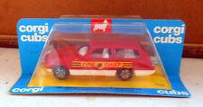 CORGI CUBS R505 AUTOMODELLINO FIRE CHIEF VIGILI FUOCO  1:43 DIE-CAST PLASTICA