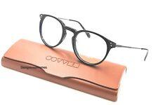 OLIVER PEOPLES Lummis 5326U 1005 Black Round 47MM RX Eyeglasses NWC AUTH