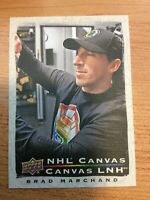 UD TIM HORTONS 2020-2021 BRAD MARCHAND CANVAS HOCKEY CARD C-2 BOSTON BRUINS