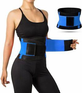 Women's Waist Trainer Body Shaper Sweat Belt Tummy Slimming Band Girdle Girdle