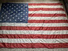 Large Vintage USA Stars And Stripes Flag