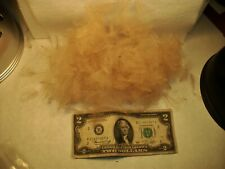 Cdc Feather 2 Gram Bag :Color ; {Caddis Tan } [4-500 Feathers]