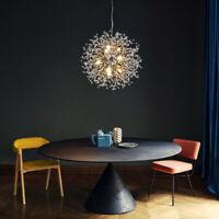 SGLfarmty-8 Light Dandelion Sputnik Chandelier Ceiling Pendant LED Lamp Fixtures