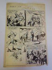Montana #14 Page 29 Original Comic Art Page Fawcett