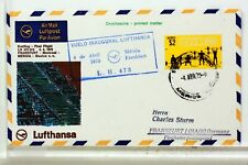 LUFTHANSA FIRST FLIGHT 1° VOL 1970 ALLEMAGNE MEXIQUE MERIDA   COVER F42