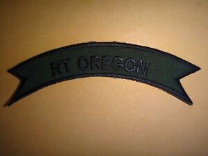 Vietnam Guerre Attenué Défiler Patch Rt Oregon 5th Forces Spéciales Groupe