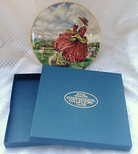 Royal Doulton 'Top o' The Hill' Collector Plate with Original Box - (957)