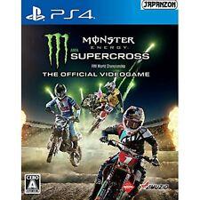 Milestone Monster Energy Supercross Sony Ps4 Playstation 4 Japanese Version