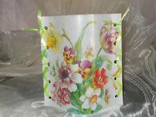 DekoWindlicht Blumen Frühlingsstrauß Tischlicht Mitbringsel Geschenkidee