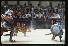 Gladiator Russell Crowe in battle with Tiger Original 35mm Photo Transparency