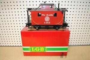LGB 4065 Rio Grande Caboose Car *G-Scale*