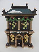 Dept 56 Dickens Village Blenham Street Bank #58330 Good Condition