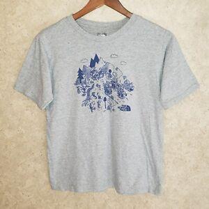 THE NORTH FACE Crewneck Short Sleeve t-Shirt Boy's Large (14-16)