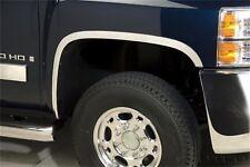 Stainless Steel Wheel Arch Trim Set fits 2007-2008 Chevrolet Silverado 1500 Silv